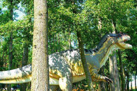 Allosaurus fragilis, Allosaur, dinosaurs series, jurassic park, education, concept  photo