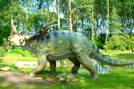 science is exciting: Styracosaurus, albertensis, Styracosaur, dinosaurs series, jurassic park, education, concept