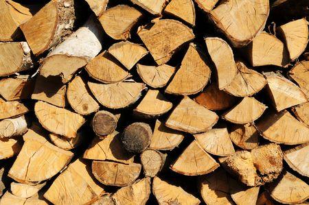 vexation: Firewood Stock Photo