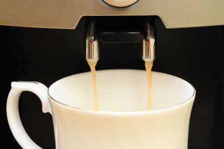 egoist: Coffee machine Stock Photo