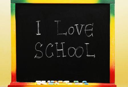 I  school Stock Photo - 3370619