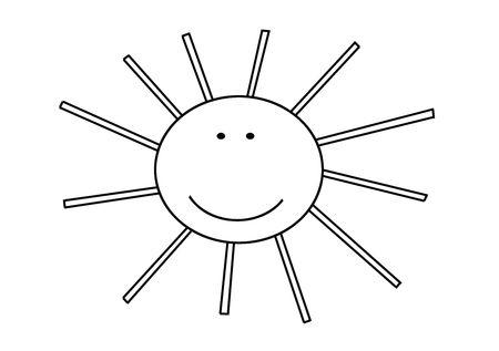 Funny Sun Stock Photo - 6175530