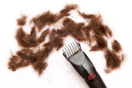 haircutting: Hair-cutting