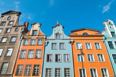 colourful houses: Casas coloridas
