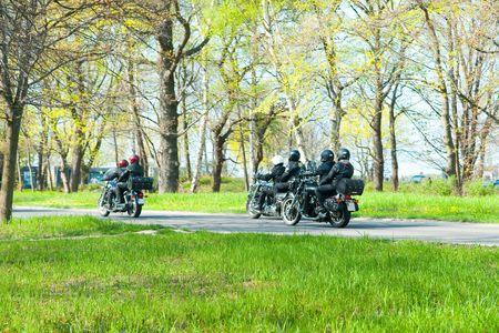 Motorcyclists photo