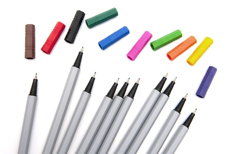 fineliner: Colorful markers