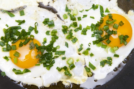 Fried eggs Stock Photo - 10272532