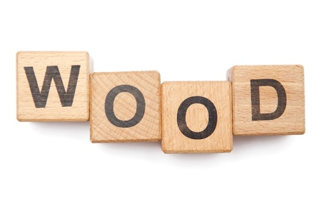 kindergarten toys: Wooden blocks