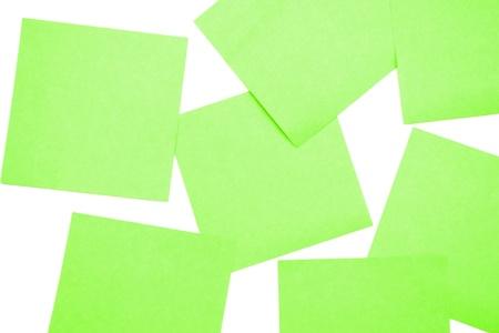 Green postit Stock Photo - 10391228