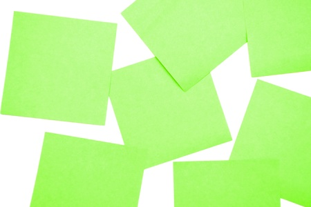 Green postit Stock Photo - 10391228