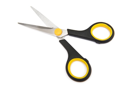 scissors cutting paper: Scissors