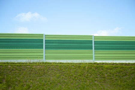 Noise barrier Stock Photo - 10516357