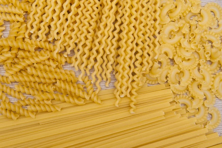gimlet: Pasta collection Stock Photo