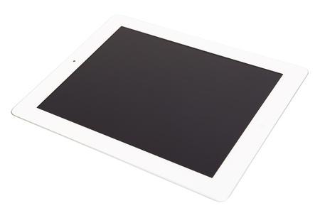 White tablet Stock Photo - 10707143