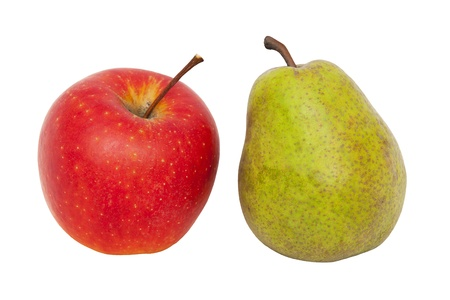 dissimilarity: Apple and pear