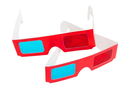 two visions: 3D glasses