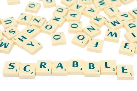 playing a game: Scrabble