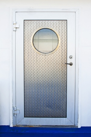 Door with porthole photo