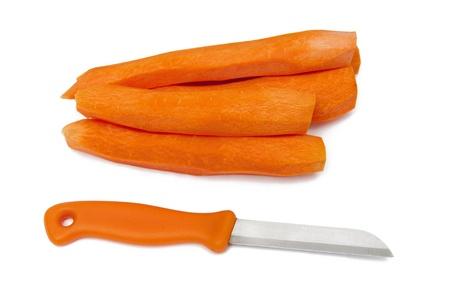 whittle: Fresh carrots Stock Photo