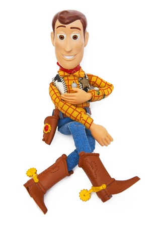 buzz: Sheriff Woody - Toy Story Editorial