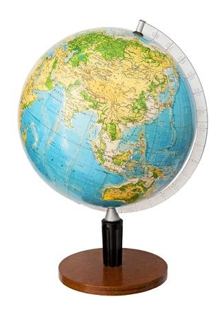 Earth globe photo