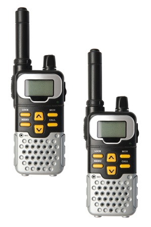 talkie: Walkie Talkie Stock Photo