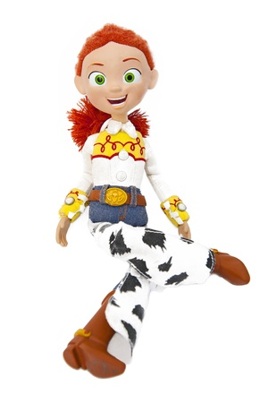 disney: Jessie - the Yodeling Cowgirl from Toy Story Editorial
