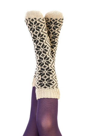 Winter socks photo