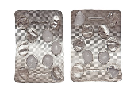 Pill packages Stock Photo - 12946634