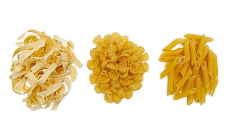 kinds: Pasta collection Stock Photo
