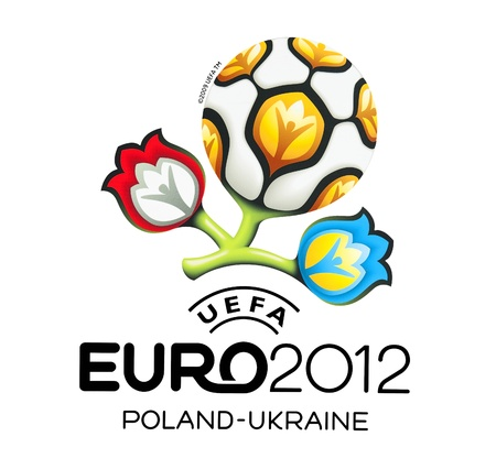 GDANSK, POLAND - MAY 1: Official logo for UEFA EURO 2012, Gdansk, Poland, May 1, 2012