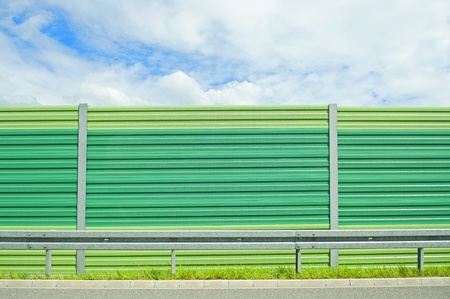 Noise barrier Stock Photo - 14455417