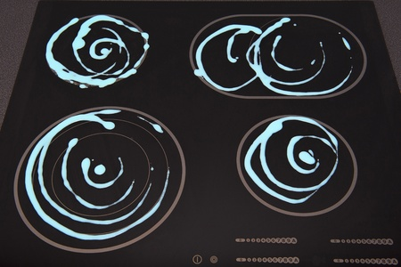 hobs: Electric hob cleaning