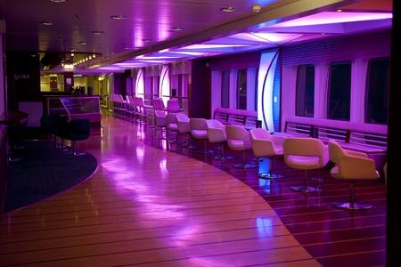 interior lighting: Nightlife Stock Photo