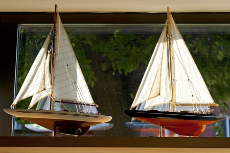 small boat: Sailboats