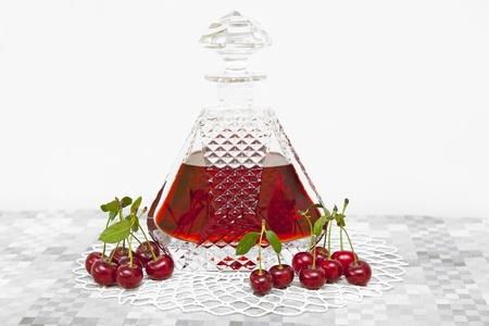 Cherry alcohol photo