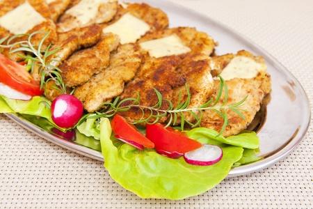 breaded pork chop: Meat Stock Photo