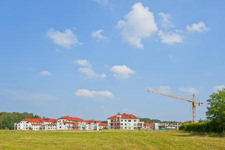 paesaggio industriale: Nuovi appartamenti