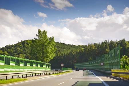 schlagbaum: Autobahn
