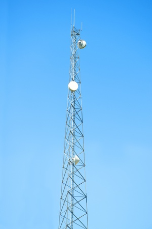 Cell phone antenna tower photo