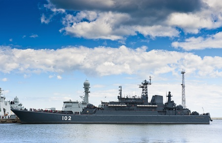 Warship Stock Photo - 15215427