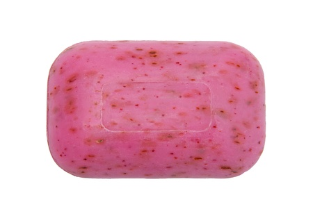 glycerin soap: Rose soap Stock Photo