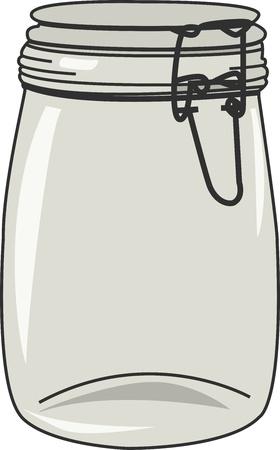 bocaux en verre: Bocal Illustration