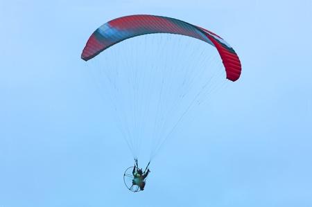 high powered: Paramotor