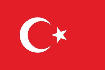Flag of Turkey Stock Vector - 16159586