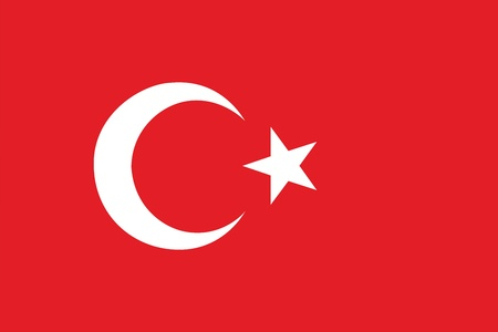 unitary: Flag of Turkey