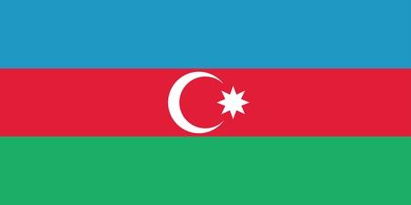 Flag of Azerbaijan Stock Vector - 16159595
