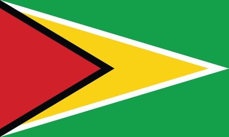 Flag of Guyana Stock Vector - 16159665