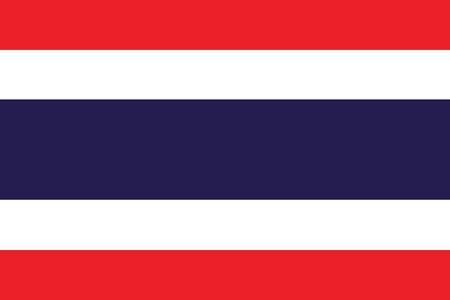 Flag of Thailand Stock Vector - 16159678