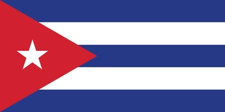 havana cigar: Flag of Cuba